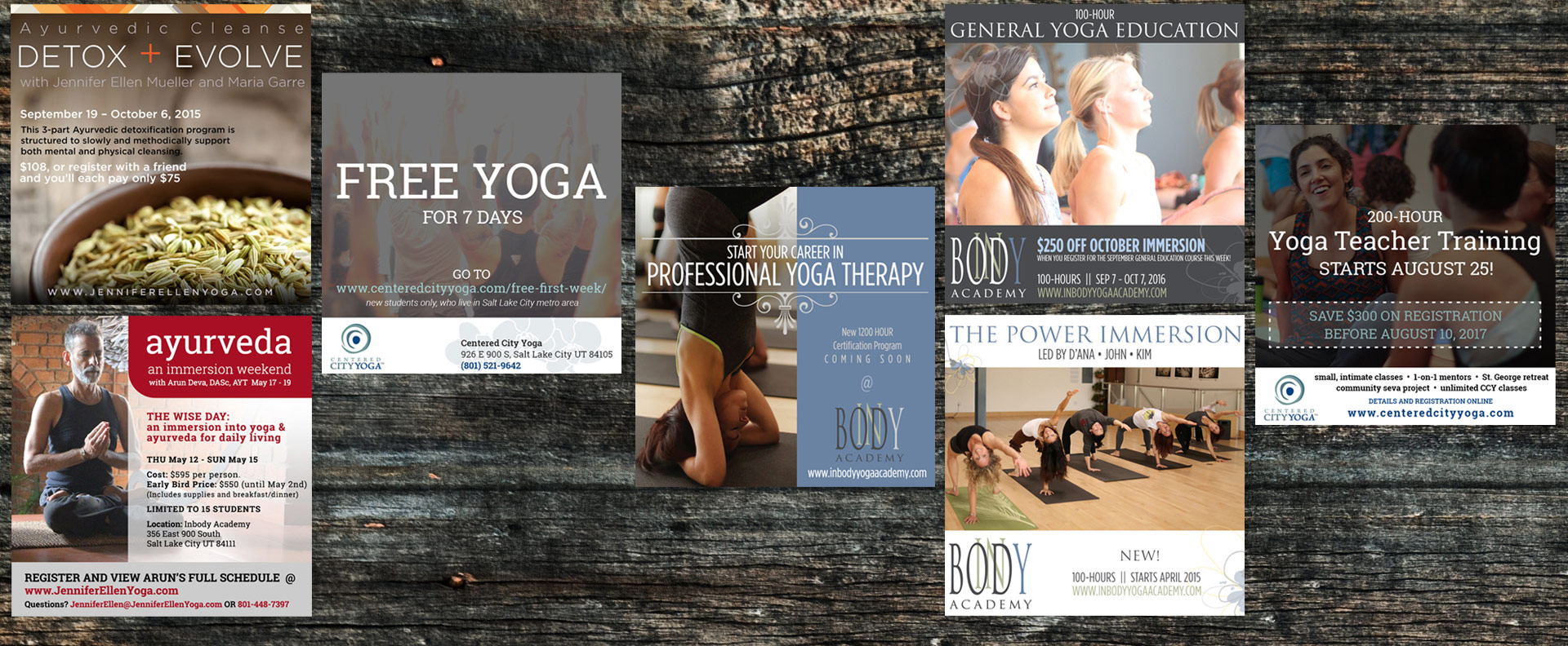 Yoga Social Media and Marketing