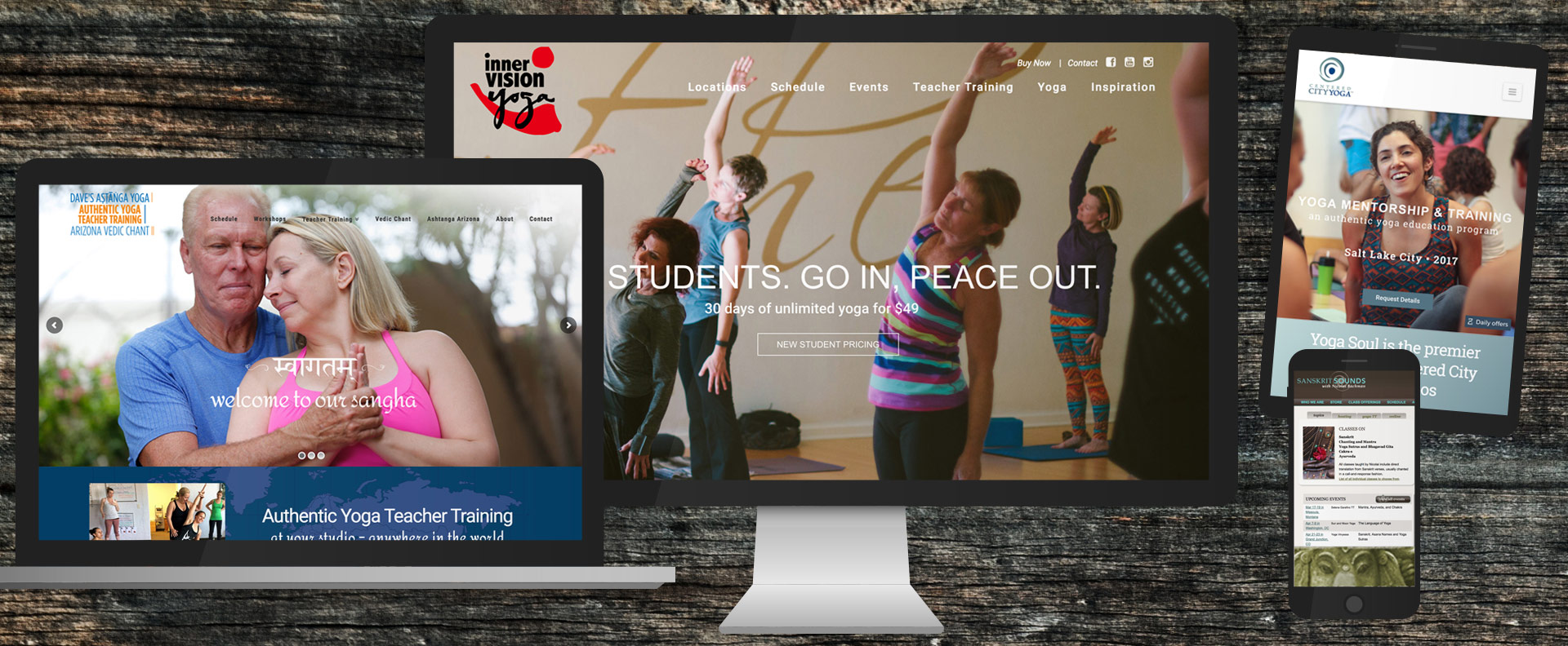 Website Design for Yoga Teachers and Yoga Studios